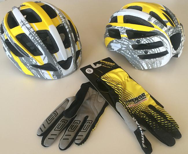 swenor hjälm och handskar